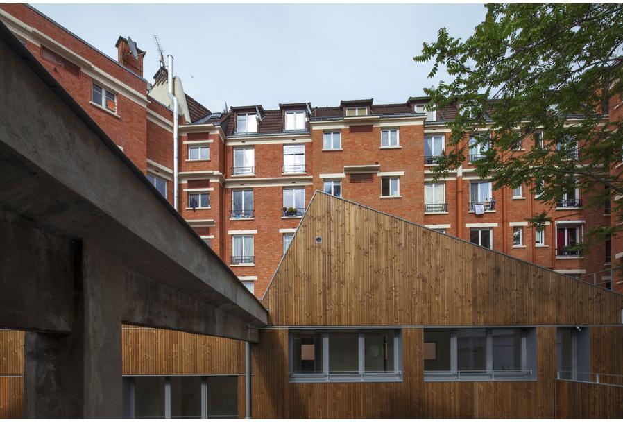 Melrose Sheds, Pantin (93), 2013 - Des Clics et des Calques architectes
