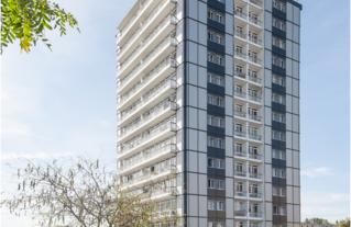 CAUE-IDF-2021_Réhabilitation de la Tour Ravel_Observatoire de la qualité architecturale du logement IDF